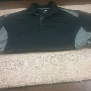 Grand Slam Black Polo Short Sleeve Shirt